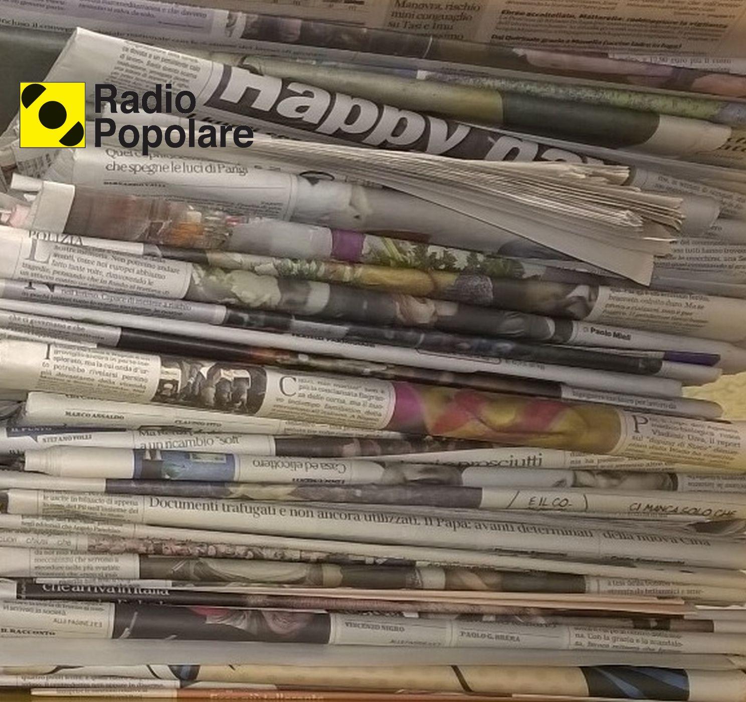 Rassegna stampa - Radio Popolare