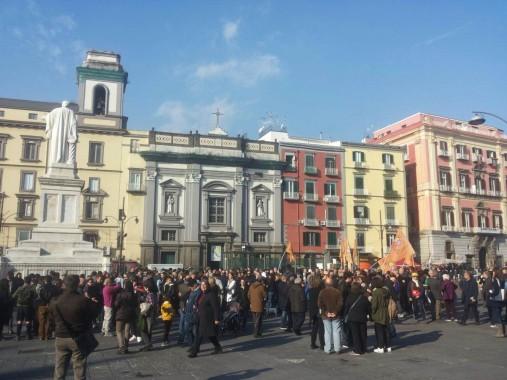 Foto dalla manifestazione di Lorenza Ghidini