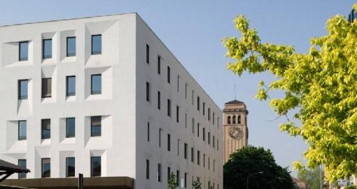 Ristrutturazione profonda dell'edificio ex-posta di Bolzano, Arch. M.Tribus