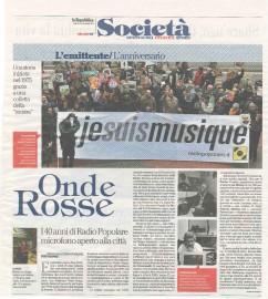 La Repubblica 19 dicembre 2015