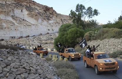 Islamisti a Derna, nel 2014