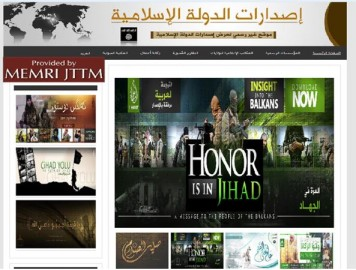 Una pagina del sito Isdarat
