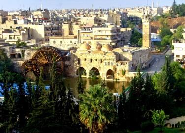 La città di Hama prima della guerra