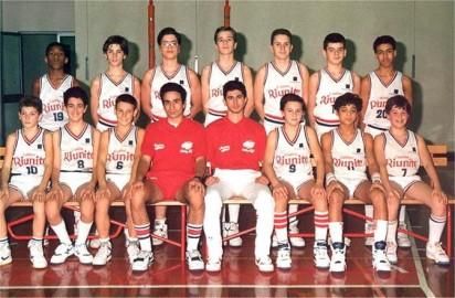 SQUADRA PROPAGANDA 1990 PALLACANESTRO REGGIANA