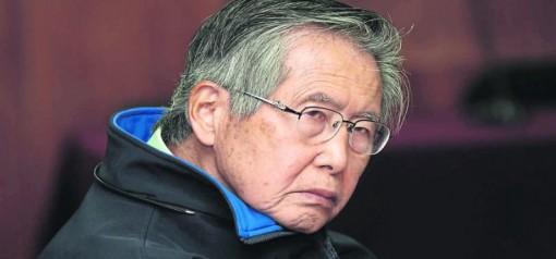 L'ex presidente Alberto Fujimori, ora in carcere per corruzione e torture