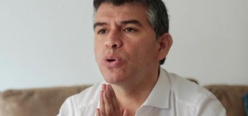 Julio Guzmàn, candidato escluso dalle presidenziali a un mese dalle elezioni per un cavillo amministrativo. Era secondo nei sondaggi