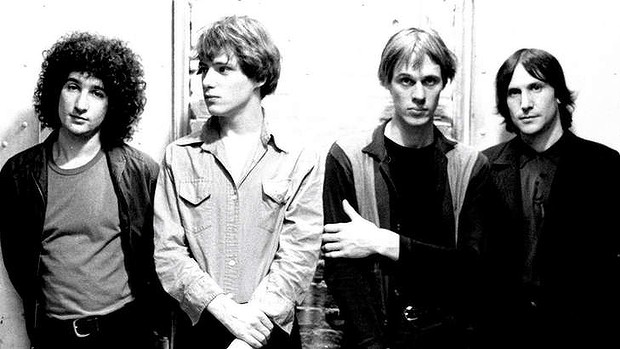 I Television nel 1976. Da sinistra: Billy Ficca, Richard Lloyd, Tom Verlaine e Fred Smith