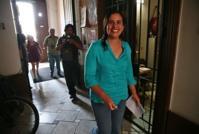 Veronika Mendoza, Frente Amplio