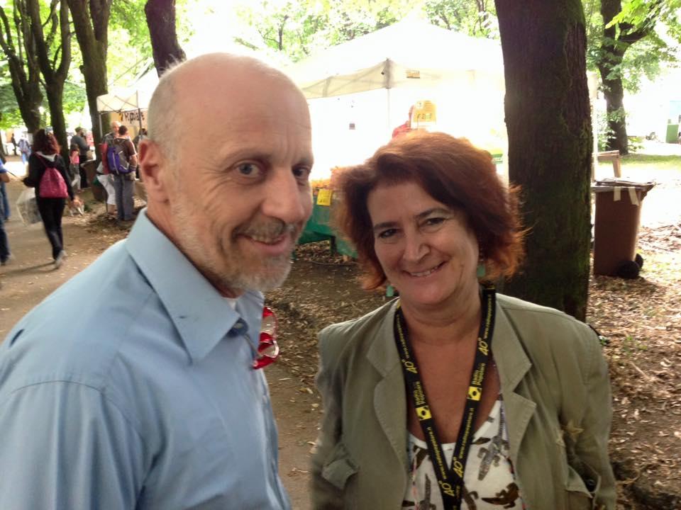 Marco Paolini pronto all'incontro con Cecilia Di Lieto alla Festa