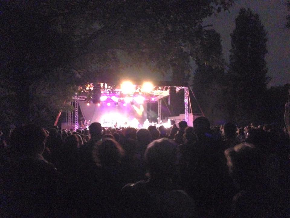 """Train To Roots alla Festa, con Levante ospite speciale per cantare insieme """"Woman""""!"""