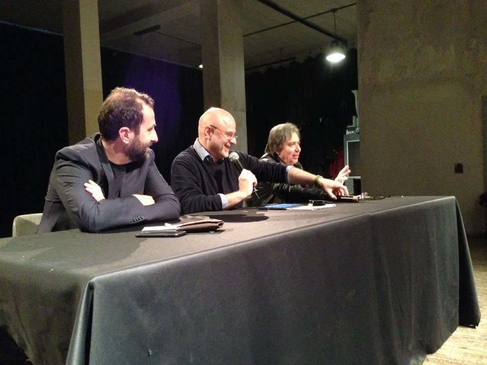 Le prospettive del giornalismo italiano. Con  Federico Ferrazza e Carlo Freccero. Modera Danilo De Biasio