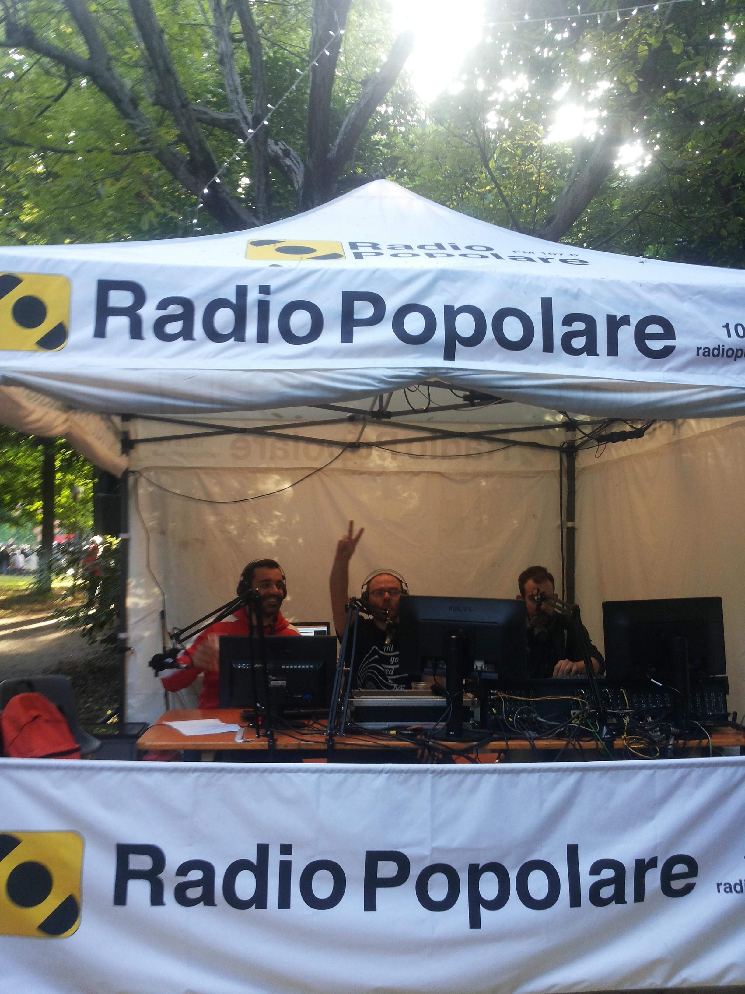 Alessandro Diegoli, Disma e Marco Sambinello in diretta dallo studio Gazebo