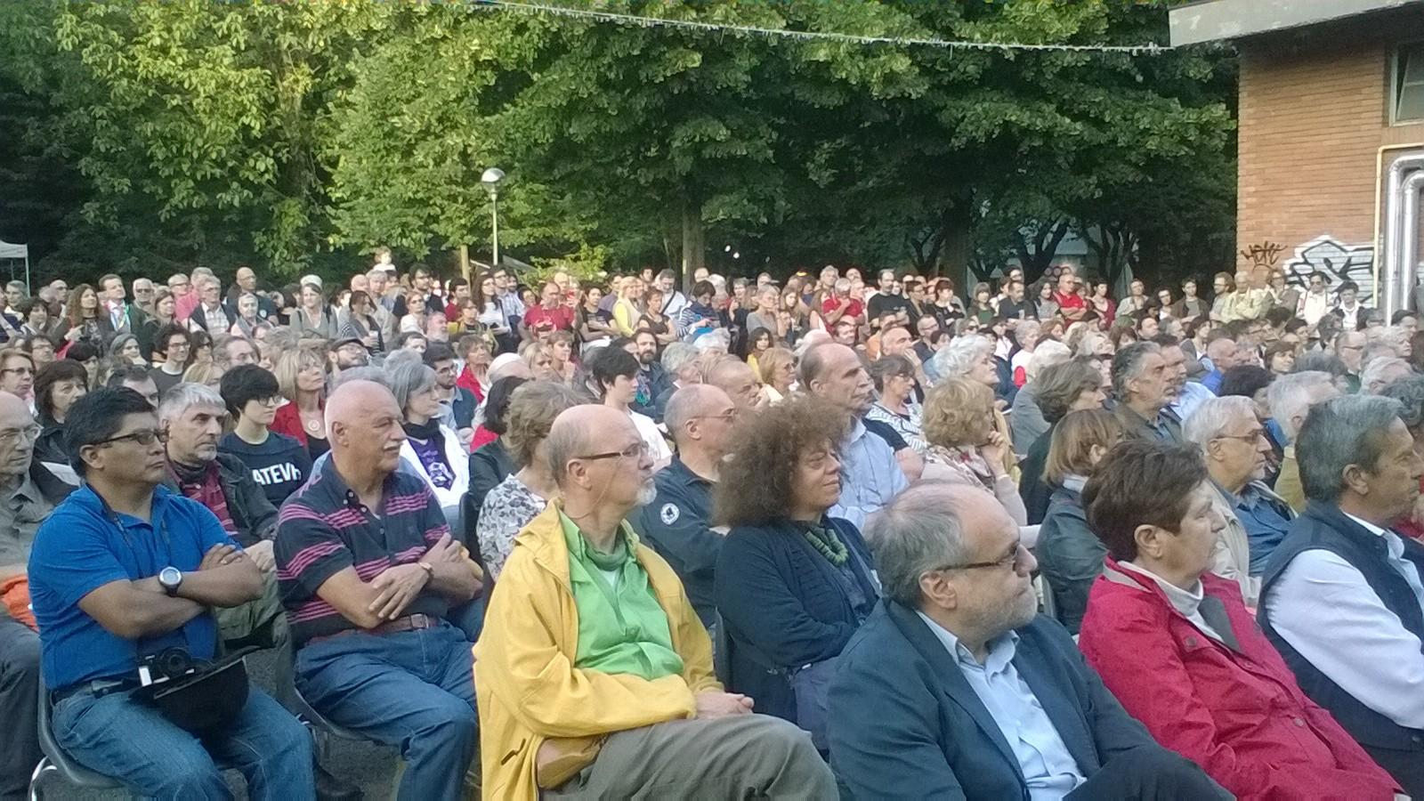 Il pubblico dell'Orchestra Mozart