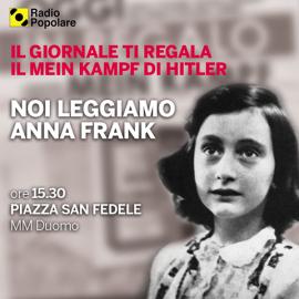 Radio Popolare Lettura collettiva Anna Frank