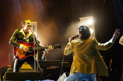 The Last Shadow Puppets (foto di Eric Pamies)