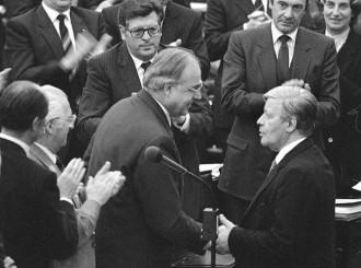 Helmut Kohl e Helmut Schmidt