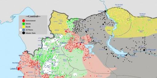 mappa turchia siria