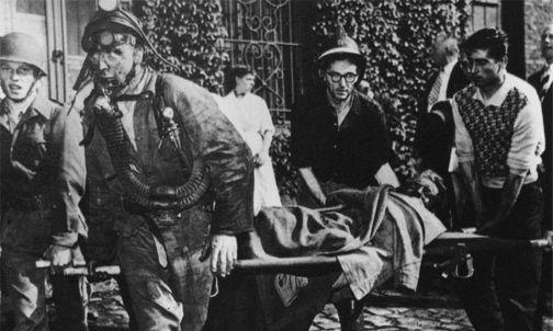 Le prime vittime. Archivio Nino Di Pietrantonio