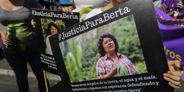 Berta Cáceres uccisa il 3 marzo 2016
