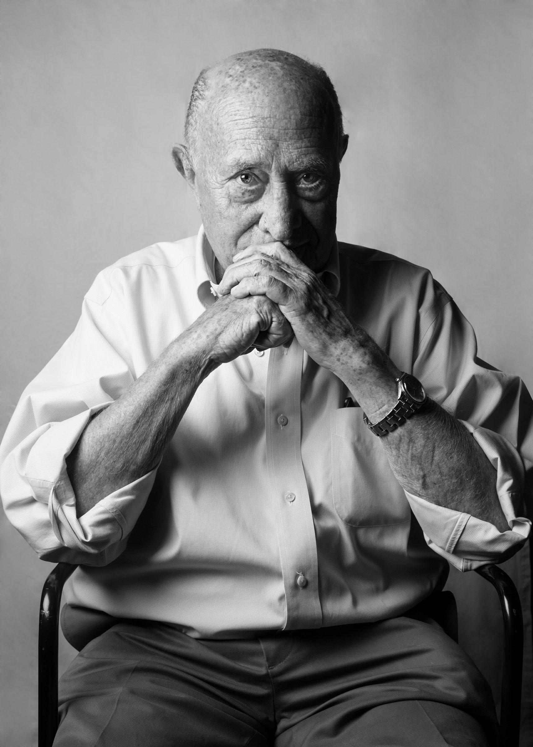 Arnaldo Pomodoro. Foto di Nicola Gnesi per Fondazione Henraux