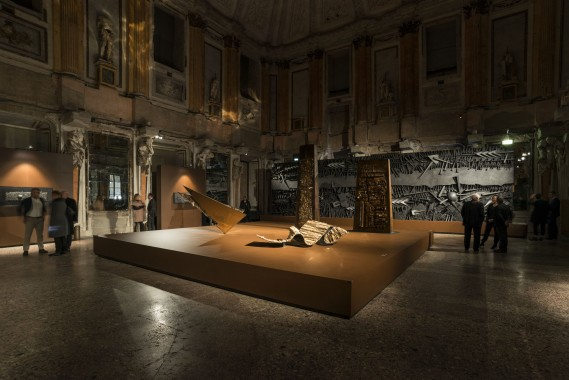 Arnaldo Pomodoro | Milano, Palazzo Reale – Sala delle Cariatidi 30 novembre 2016 - 5 febbraio 2017 Foto di Carlos Tettamanzi