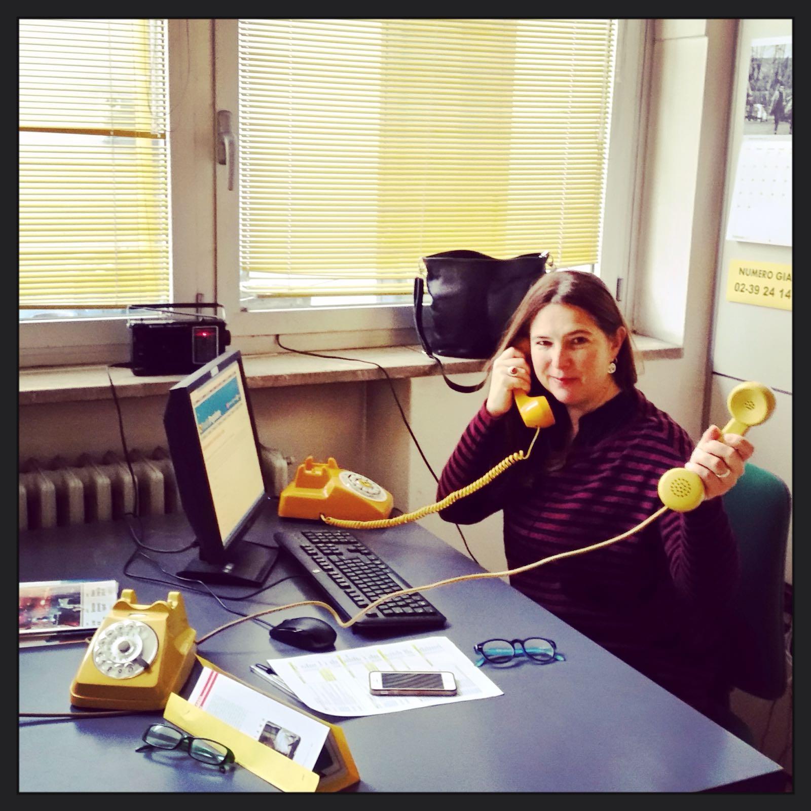 Barbara Sorrentini al numero giallo