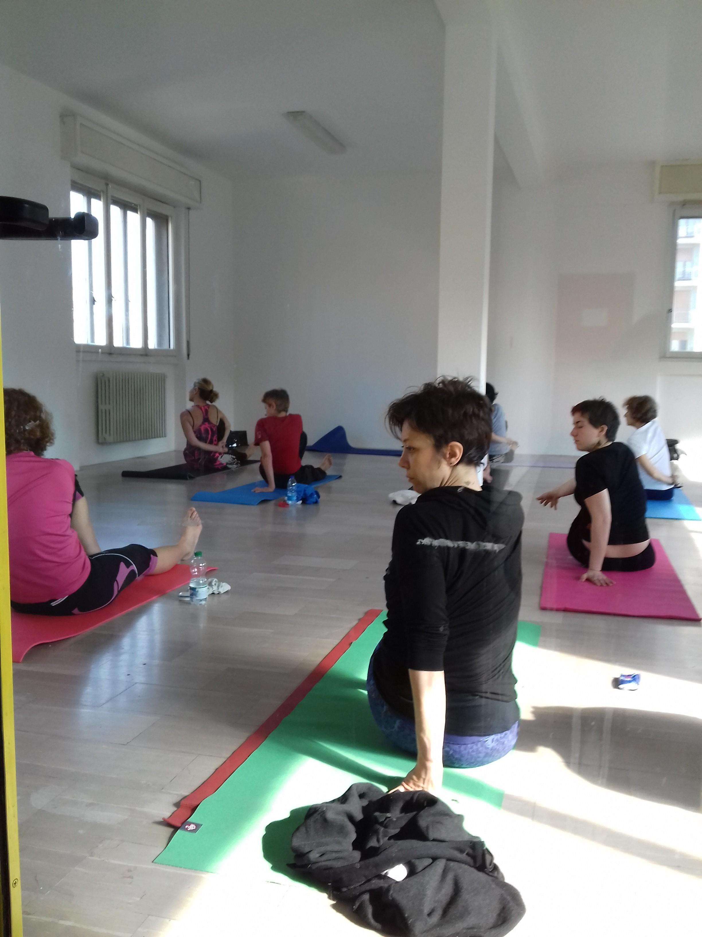 Yoga nello spazio museo - 1