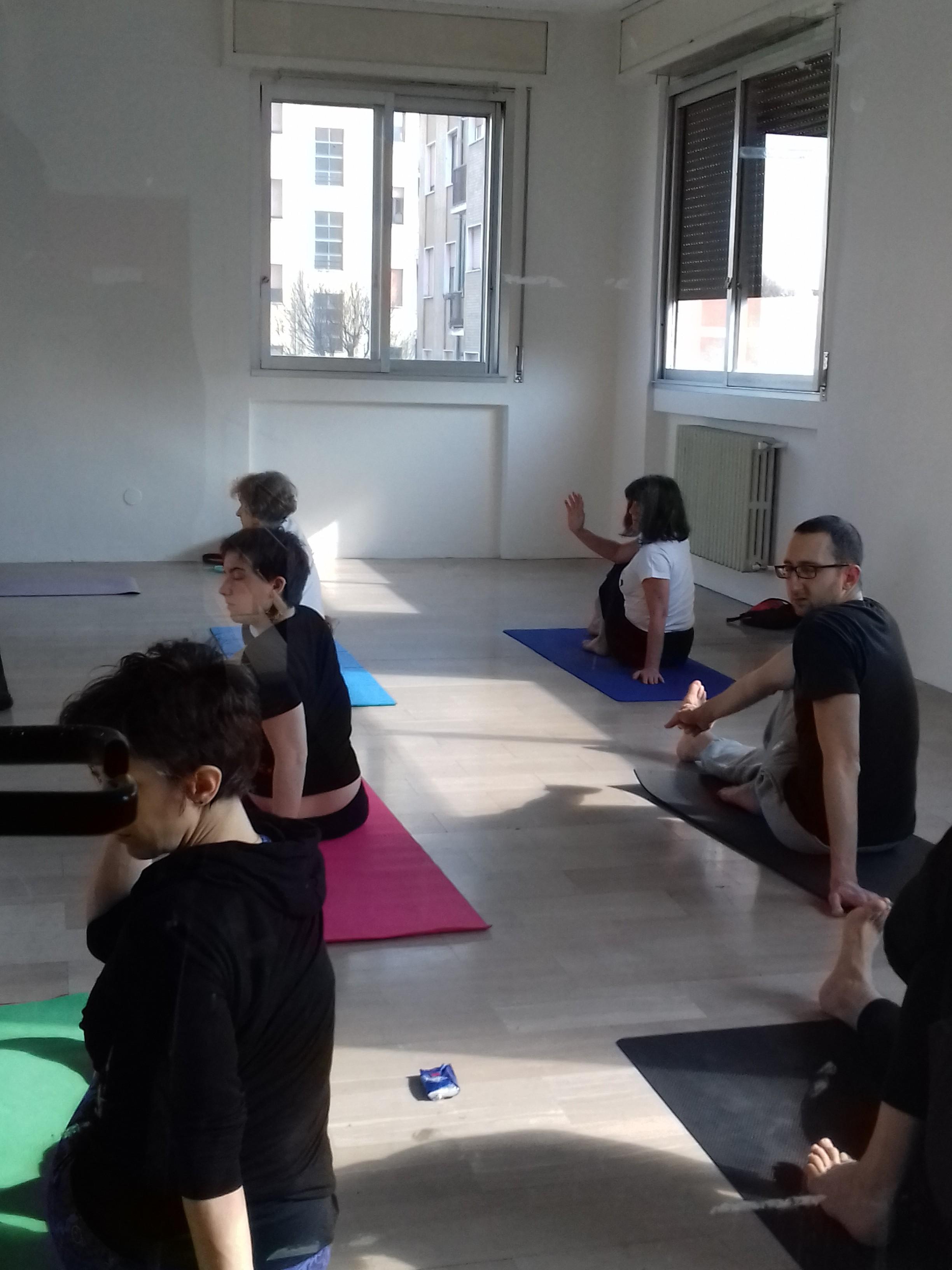 Yoga nello spazio museo - 2