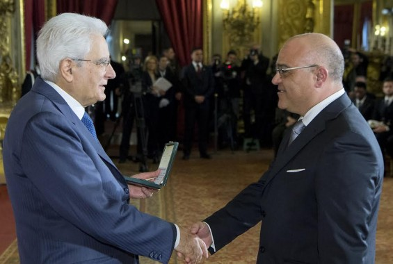 Mattarella premia Antoci per il suo impegno civile