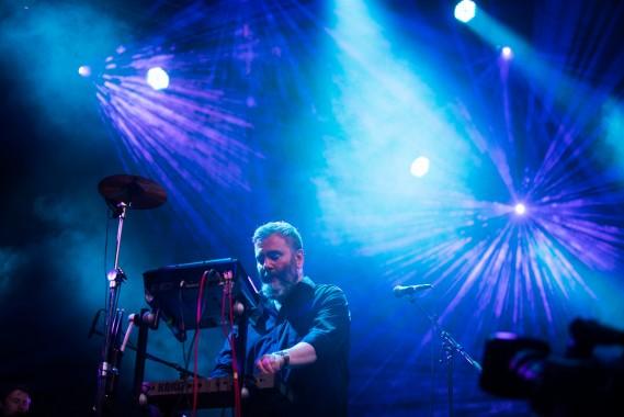 Aidan Moffat degli Arab Strap (Foto Garbine Irizar - Primavera Sound)