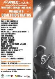 Demetrio Stratos 13 giugno 2017