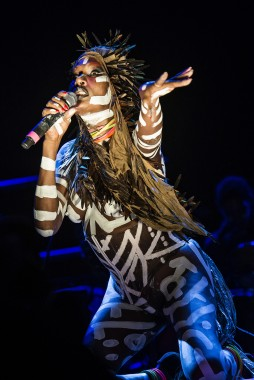 Grace Jones (Foto Eric Pamies - Primavera Sound)