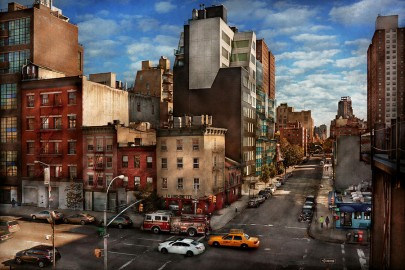 Greenwich Village angolo tra 10th e 18th st