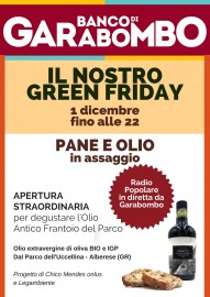 Green Friday garabombo 1 dicembre