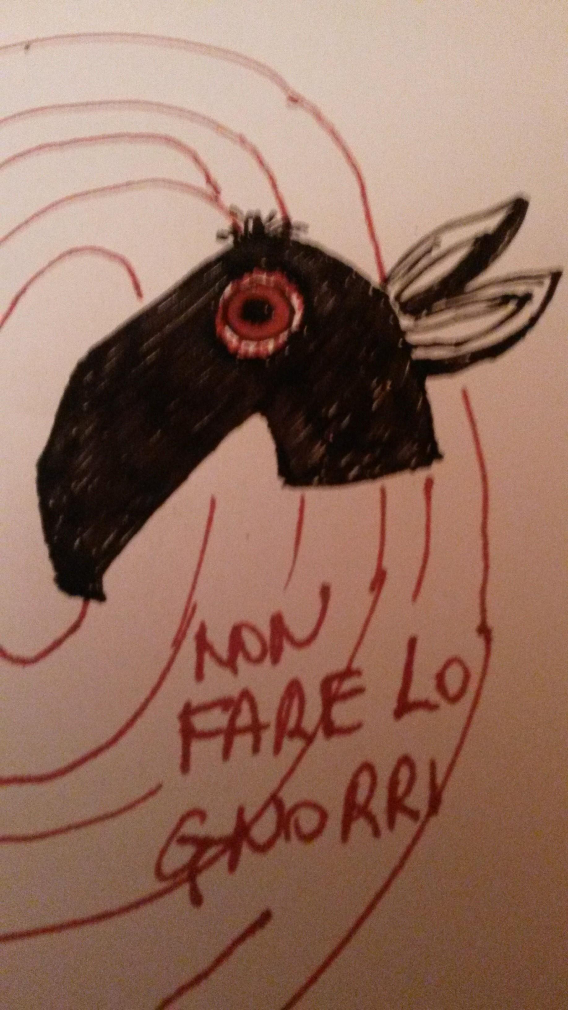 Da Giacomo - logo anti scrocconi