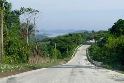 Strada verso la Comandancia