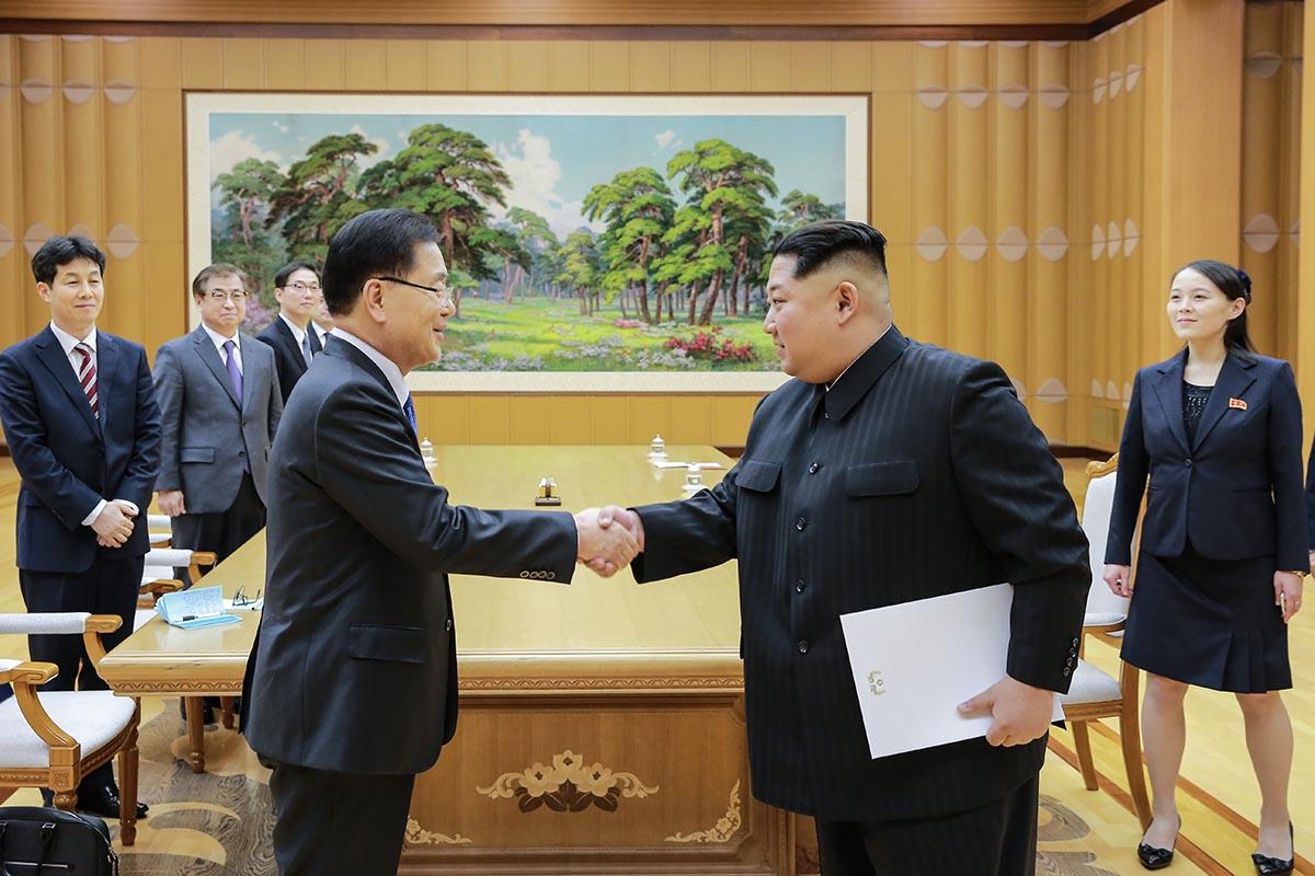 Kim Jong-Un in Corea Del Sud