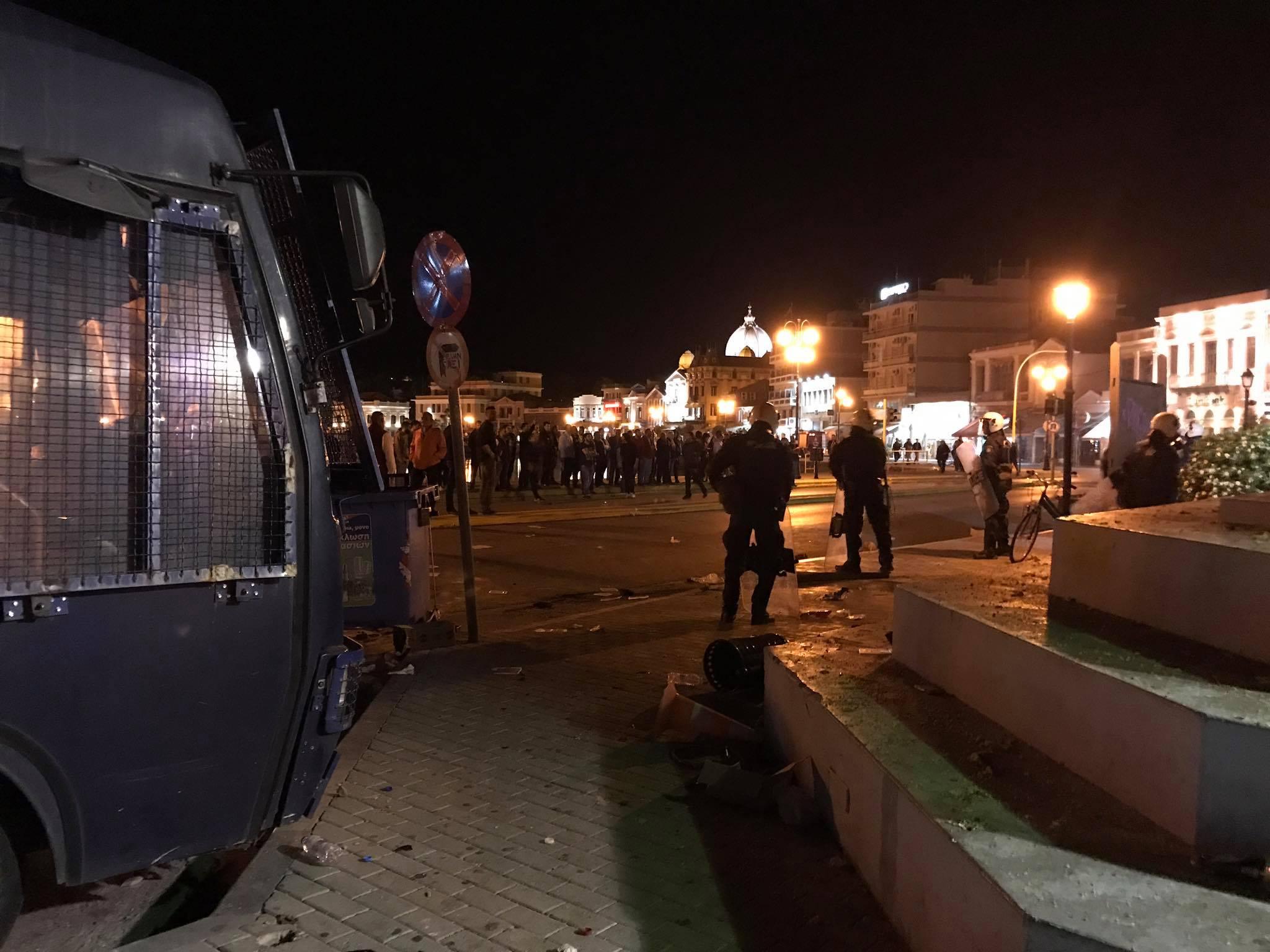 attacco fascista a Lesbo