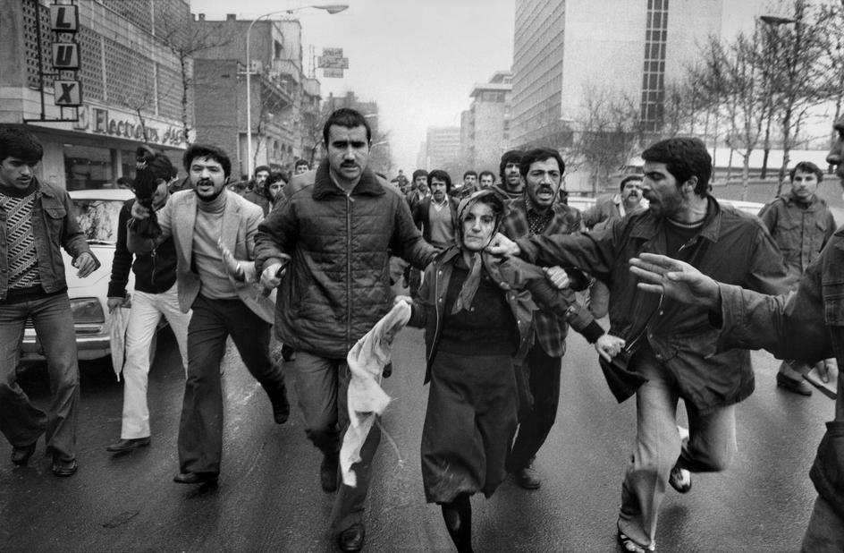 La rivoluzione in Iran del 1979