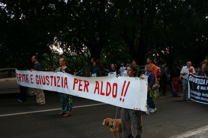 Verità e Giustizia per Aldo Bianzino
