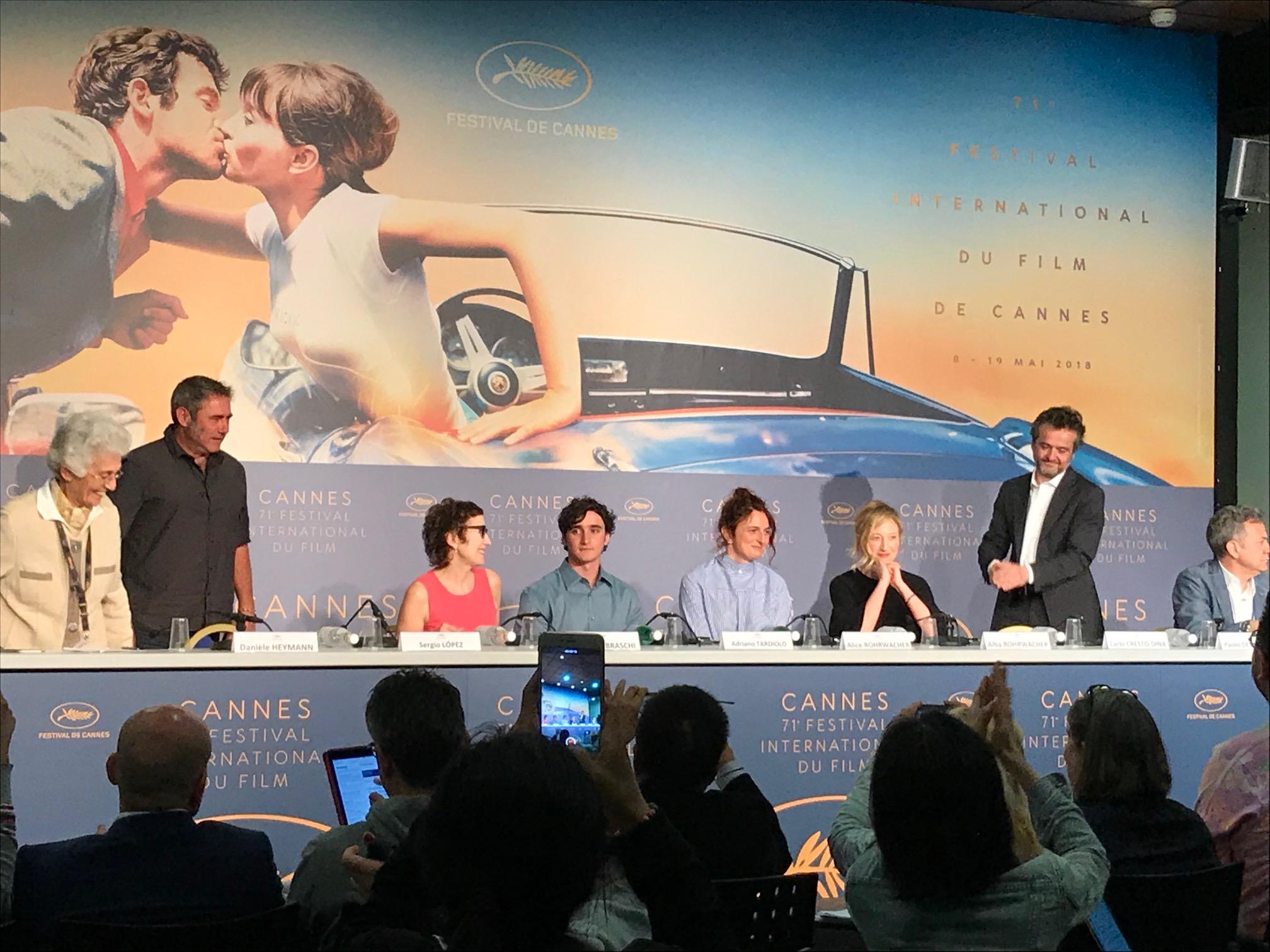 La conferenza stampa di Lazzaro Felice