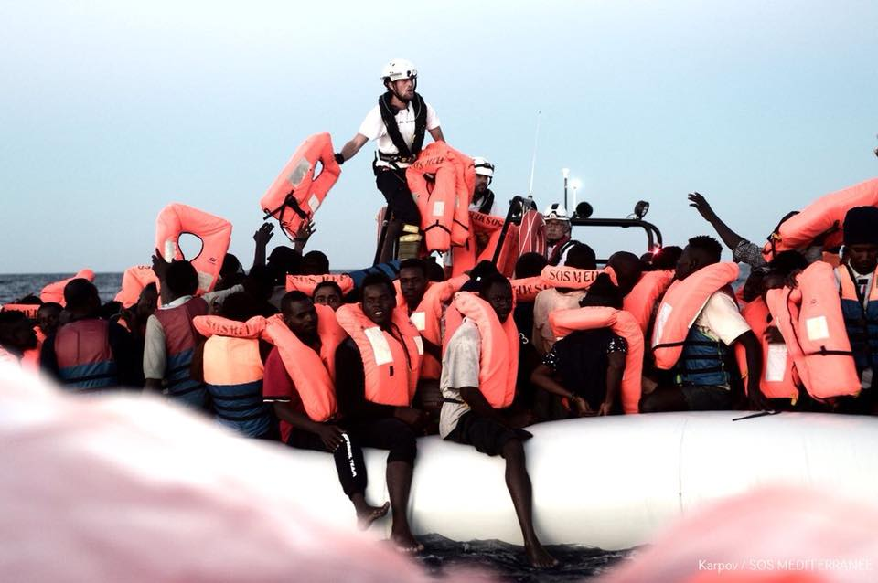 Migranti soccorsi dalla nave Aquarius
