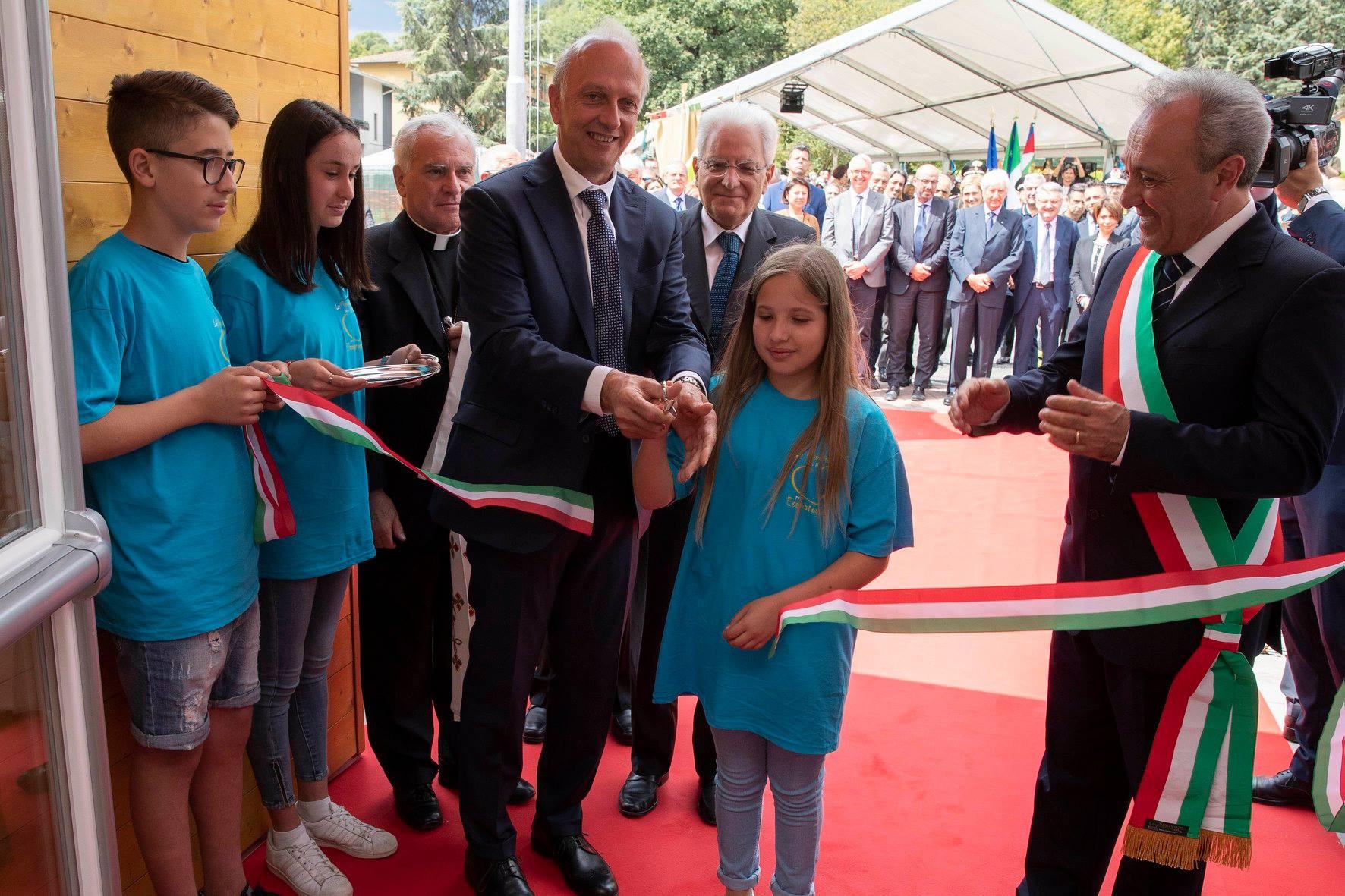 Il nuovo ministro dell'Istruzione con Sergio Mattarella