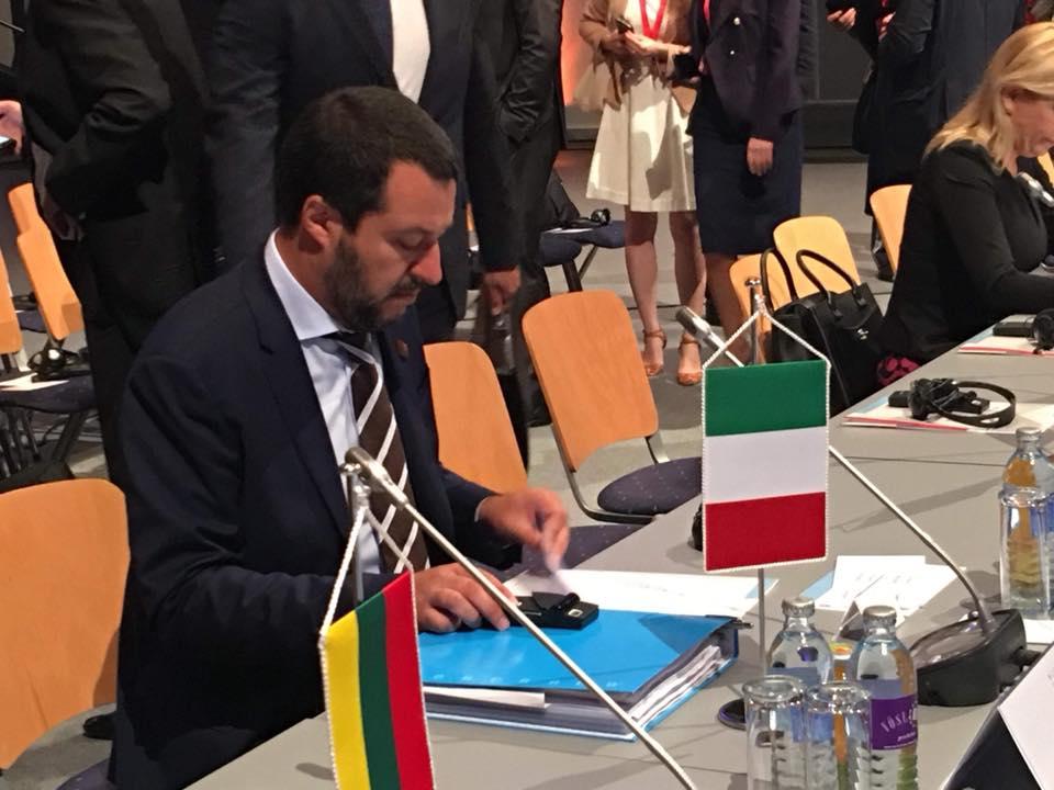 Matteo Salvini in Austria