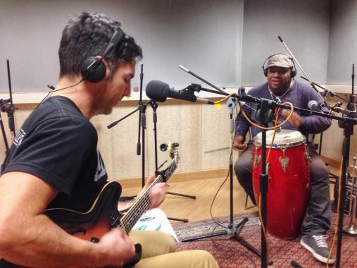 Adriano Viterbini e Ramon Caraballo dal vivo a MiniSonica