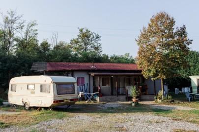 campo rom via Idro