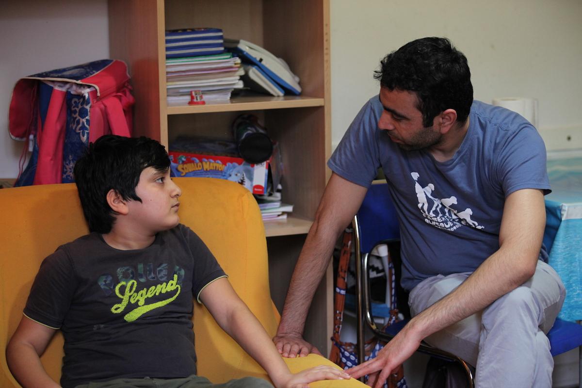 Malik e suo figlio