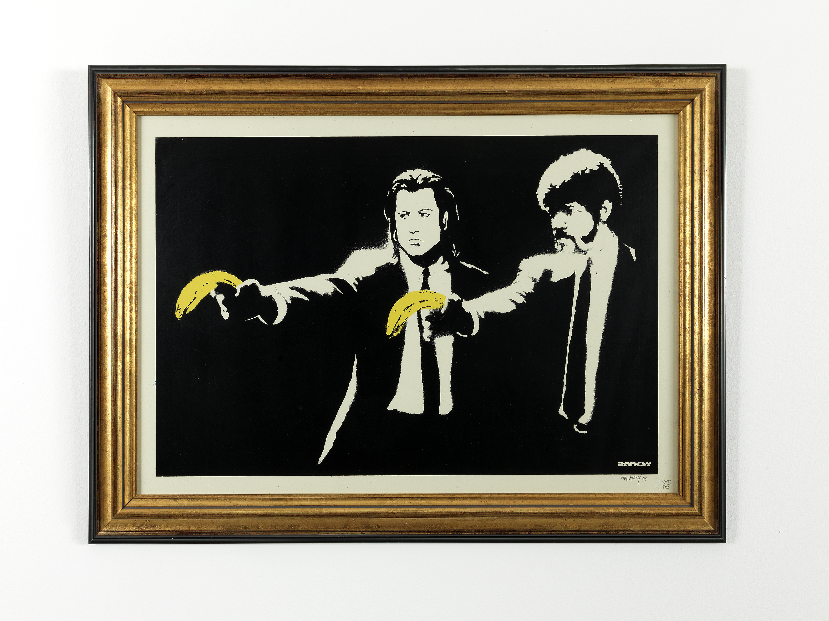 Banksy, Pulp fiction cm. 63 x 40_0040