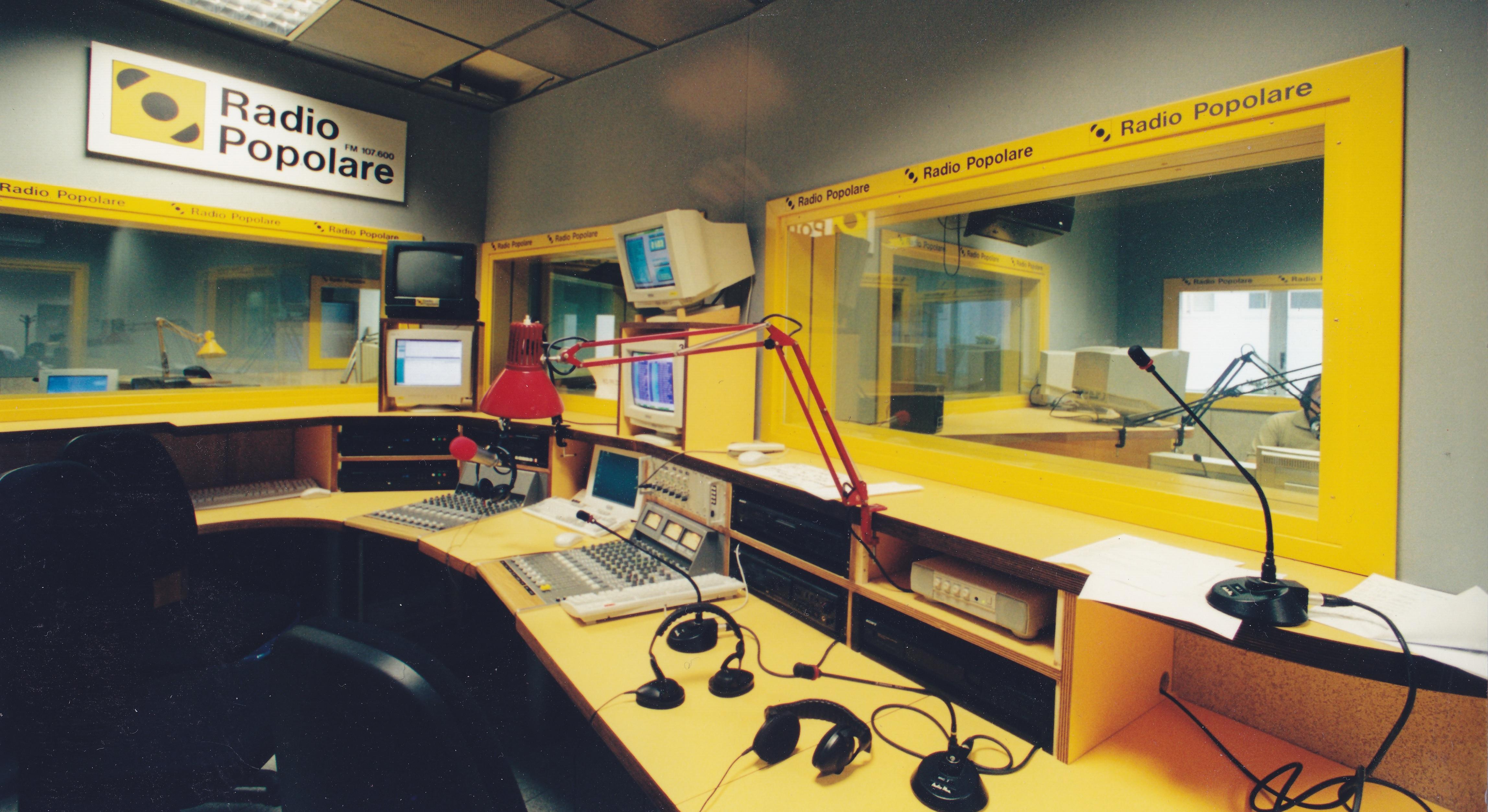 Radio Popolare - Lo studio