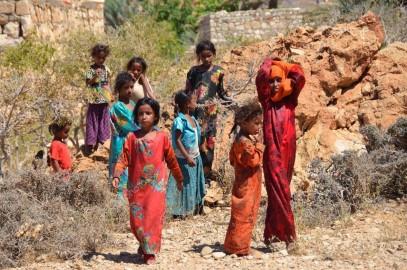 Bambini nello Yemen